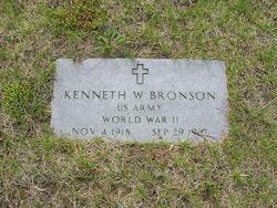 Kenneth W Bronson