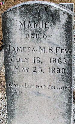 Mary Mamie Few