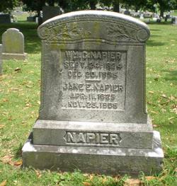 Jane Elizabeth <i>Watkins</i> Napier