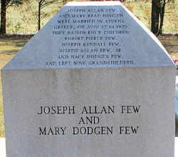 Mary Read <i>Dodgen</i> Few