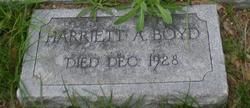 Harriet A. Boyd