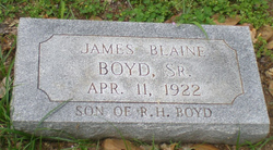 James Blaine Boyd, Sr