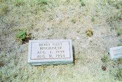 Dewey Fleet Bingham, Sr