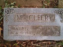 Nora Martha <i>Payne Maner</i> McCleery
