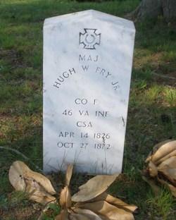 Maj Hugh Walker Fry, Jr