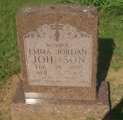 Emma <i>Jordan</i> Johnson