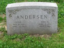 Alfred C Andersen