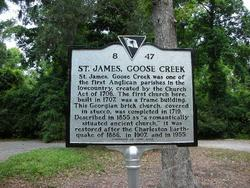 Saint James Goose Creek Cemetery
