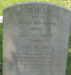 Mary <i>Bell</i> Bloodgood