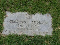 Cleston Lincoln Addison