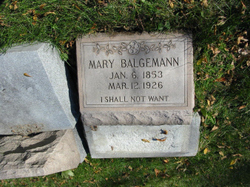 Mary <i>Hoepner</i> Balgemann