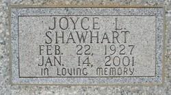 Joyce Laverne Nannie <i>Palmer</i> Shawhart