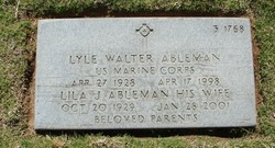 Lyle Walter Ableman