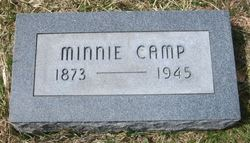 Minnie Jacqueline <i>Massey</i> Camp