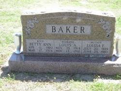 Louis A Baker