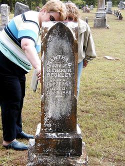 Martha D. <i>Ridgway</i> Beckley