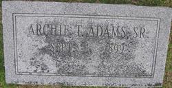 Archie T Adams, Sr