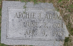 Archie T Adams, Jr