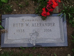 Ruth Wanda <i>Burden</i> Alexander
