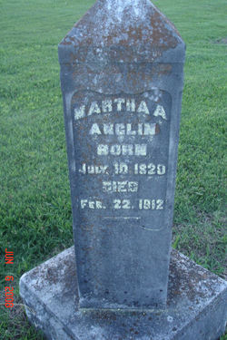 Martha Ann <i>Webb</i> Anglin