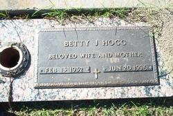 Betty Jewel <i>Peveto</i> Hogg