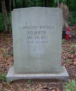 Caroline Hagood Carrie <i>Witsell</i> Peurifoy