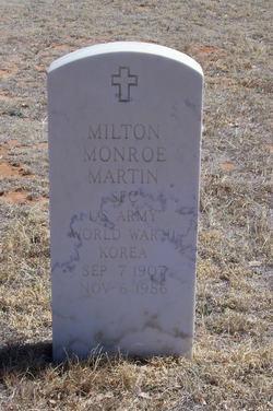 Milton Monroe Martin