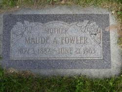 Maude Ann <i>Tucker</i> Fowler