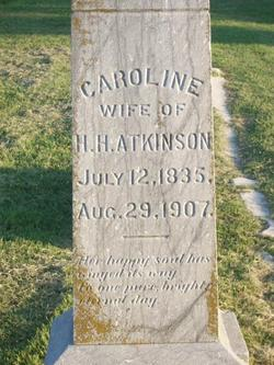 Caroline <i>Bailey</i> Atkinson