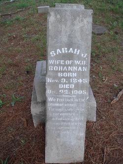 Sarah J McNatt Bohannan