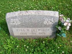 Myra W. Detweiler
