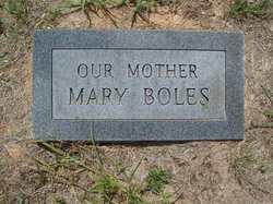 Mary <i>Covington</i> Boles