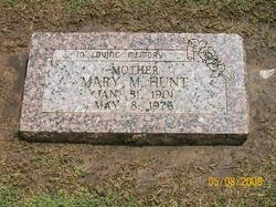 Mary M Hunt