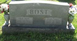Ova Jane <i>Hill</i> Bost