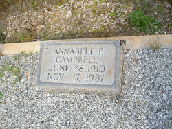Annabell Grace <i>Pruitte</i> Campbell