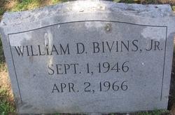 William Drumwright Bivins, Jr