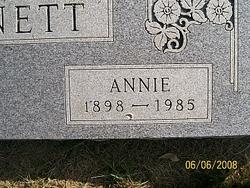 Annie Bennett