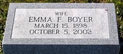 Emma F. Boyer