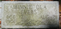 Minnie Ola Evers