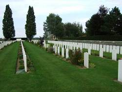 Rue-David Military Cemetery, Fleurbaix