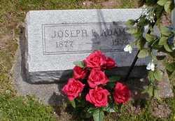 Joseph Edward Joe Adams