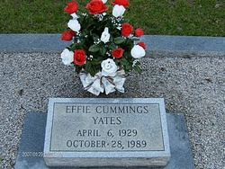 Effie <i>Cummings</i> Yates