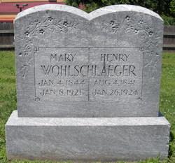 Henry W Wohlschlaeger