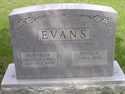 Ethel S Evans