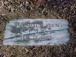 Ina Mae <i>Slayton</i> Green