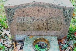 Flavia Ella <i>Lewis</i> Hogge
