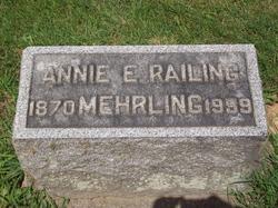 Annie E <i>Railing</i> Mehrling