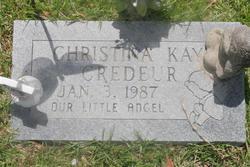 Christina Kay Credeur