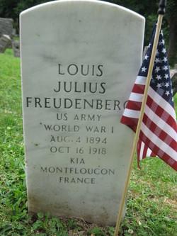 Pvt Louis Julius Freudenberg, I