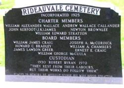 Rideauvale Cemetery
